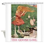 The Goose Girl Shower Curtain