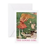 The Goose Girl Greeting Card