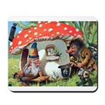 Gnome Outside his Toadstool Cottage Mousepad