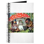 Gnome Outside his Toadstool Cottage Journal