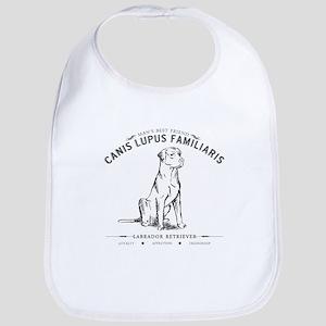 Vintage Labrador Bib