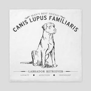 Vintage Labrador Queen Duvet