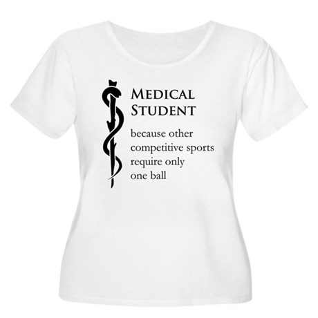 Medical Student Because... Women's Plus Size Scoop