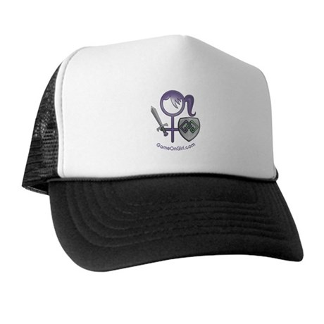 Trucker Hat with GameOnGirl logo