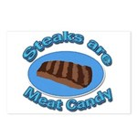 Steaks are Meat candy 2 Postcards (Package of 8)