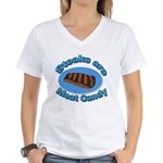 Steaks are Meat candy 2 Women's V-Neck T-Shirt