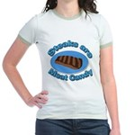 Steaks are Meat candy 2 Jr. Ringer T-Shirt