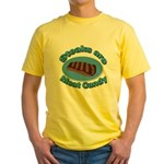 Steaks are Meat candy 2 Yellow T-Shirt