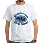 Steaks are Meat candy 2 White T-Shirt
