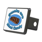 Steaks are Meat candy 2 Rectangular Hitch Cover