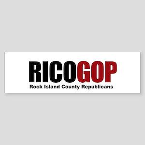 RICO GOP Sticker (Bumper)