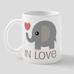 Dating In Love Elephant Mug