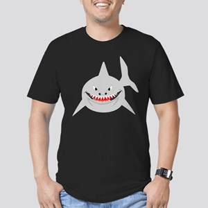 Shark Men's Fitted T-Shirt (dark)