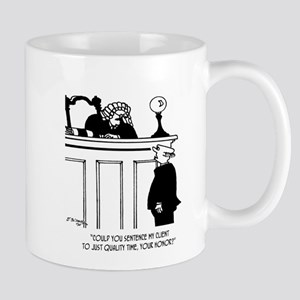 Lawyer Cartoon 5298 11 oz Ceramic Mug