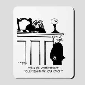 Lawyer Cartoon 5298 Mousepad