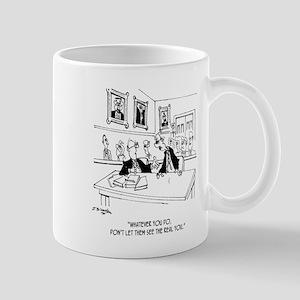 Attorney Cartoon 4970 11 oz Ceramic Mug