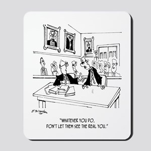 Attorney Cartoon 4970 Mousepad
