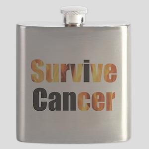 Survive Cancer Flask