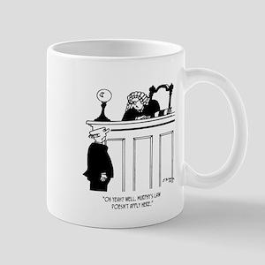 Judge Cartoon 4588 11 oz Ceramic Mug