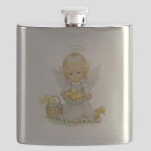 Easter Angel Flask