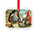 King of the Gnomes Picture Ornament
