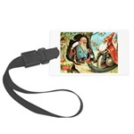 King of the Gnomes Large Luggage Tag