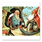 King of the Gnomes Square Car Magnet 3