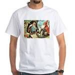 King of the Gnomes White T-Shirt