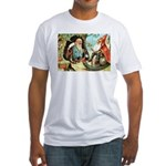 King of the Gnomes Fitted T-Shirt