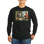 King of the Gnomes Long Sleeve Dark T-Shirt