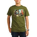 King of the Gnomes Organic Men's T-Shirt (dark)