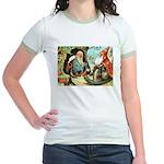 King of the Gnomes Jr. Ringer T-Shirt