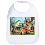 Gnome and Frog on a Seesaw Bib