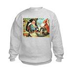 King of the Gnomes Kids Sweatshirt
