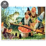 Gnome and Frog on a Seesaw Puzzle