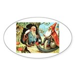 King of the Gnomes Sticker (Oval)
