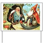 King of the Gnomes Yard Sign