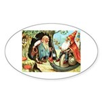 King of the Gnomes Sticker (Oval 10 pk)