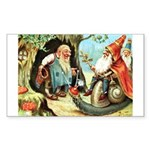 King of the Gnomes Sticker (Rectangle 50 pk)