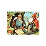 King of the Gnomes 35x21 Wall Decal