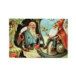King of the Gnomes Rectangle Magnet (10 pack)