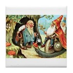King of the Gnomes Tile Coaster