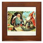 King of the Gnomes Framed Tile