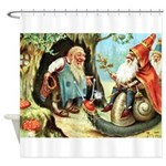 King of the Gnomes Shower Curtain