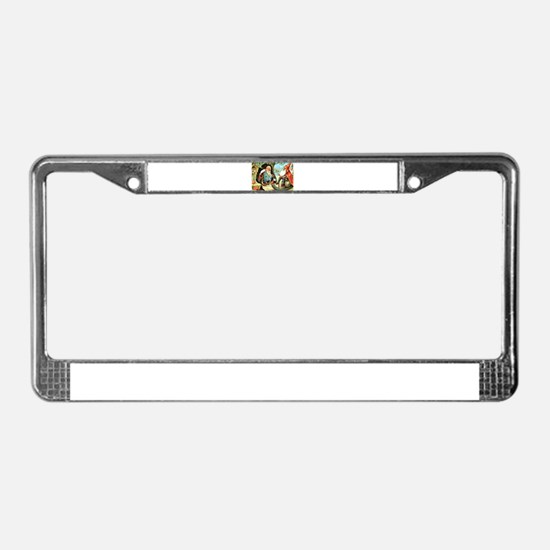 King of the Gnomes License Plate Frame