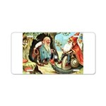 King of the Gnomes Aluminum License Plate