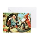 King of the Gnomes Greeting Cards (Pk of 10)