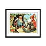 King of the Gnomes Framed Panel Print