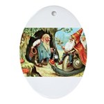 King of the Gnomes Ornament (Oval)