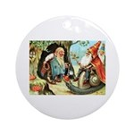 King of the Gnomes Ornament (Round)